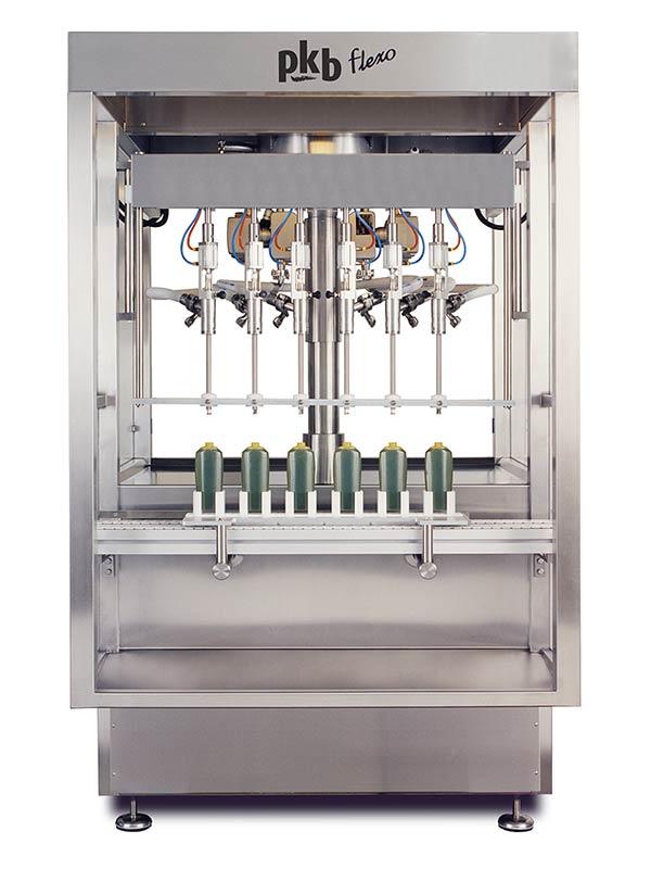 PKB FLEXO KOSMETIKA: Abfüllmaschine bis zu 160 Stck/Min