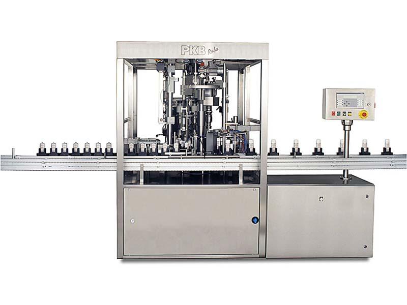 PKB ROBO FLÜSSIGE FOUNDATION: Abfüll- und Verschließmaschine bis zu 40 Stck/Min