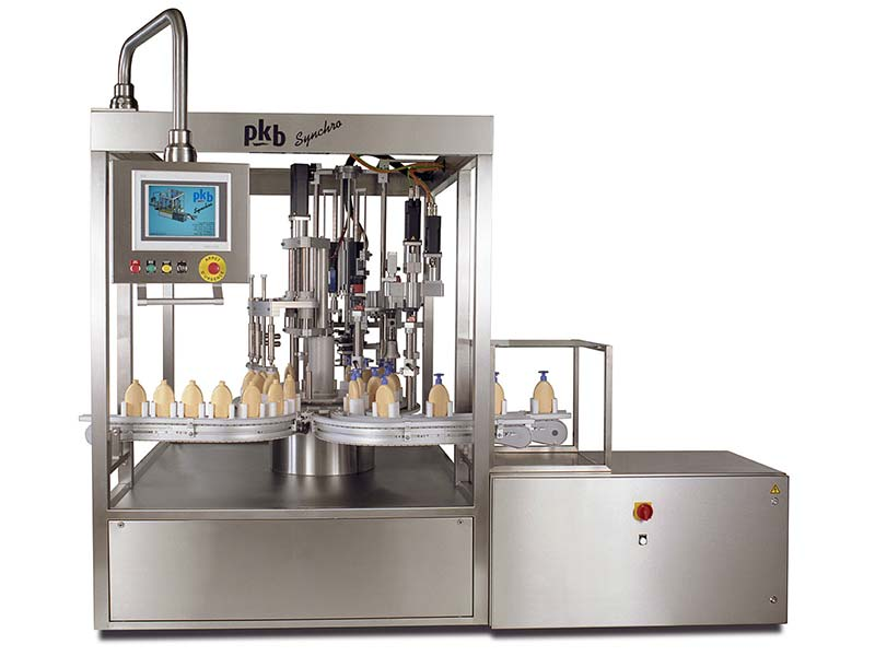PKB SYNCHRO Lip-gloss: filling/capping machine up to 60 bpm