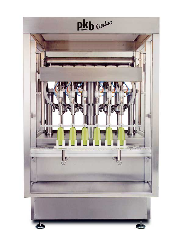 PKB VIRTUO COSMETICS : filling machine up to 140 bpm