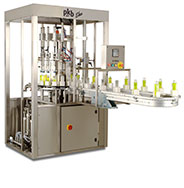 PKB EKO COSMETICS : filling/capping machine up to 40 bpm