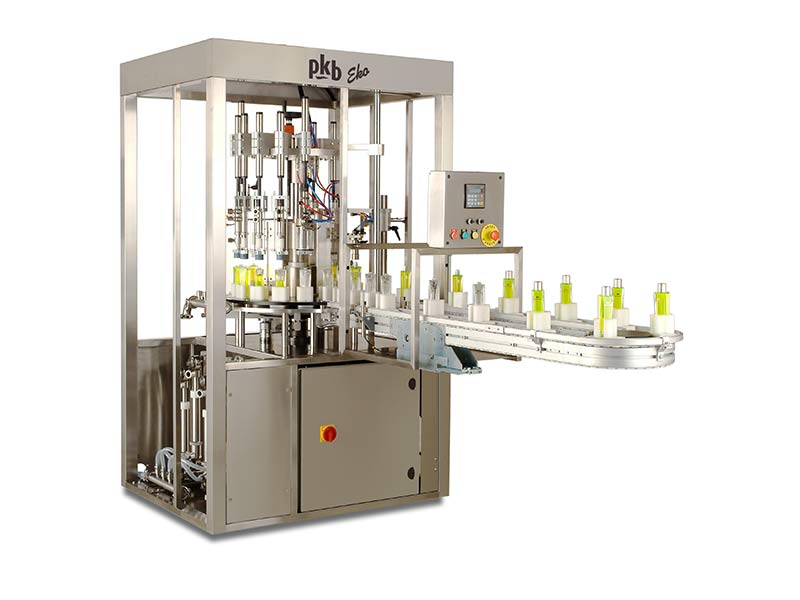 PKB EKO Hair-dye : filling and capping machine up to 45 bpm